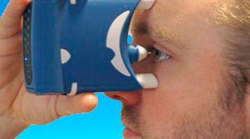 Прибор для измерения глазного давления
