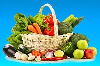 При климаксе стоит отдать предпочтение свежим овощам и фруктам