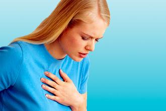 Женщина с болью в сердце