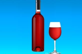 Розовое вино стабилизирует давление