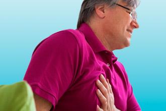 Боль в груди при гипертонии