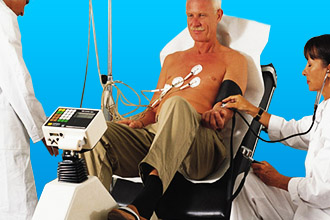 Стресс-эхо-кардиография пациента