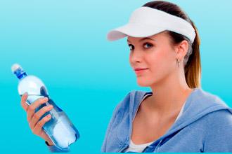 Употребление воды во время тренировки
