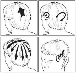 Как правильно выполнить самомассаж головы